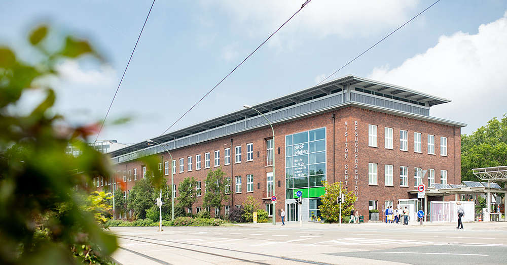 Symbolbild BASF Besucherzentrum (Foto: BASF)