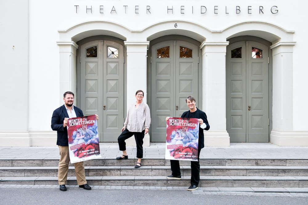 BarockfestThomas Böckstiegel, Ulrike Schumann, Holger Schultze (v.l.n.r., Foto: Susanne Reichardt)