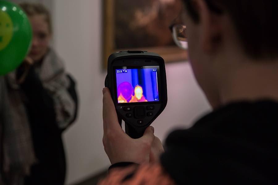 Wärmebildkamera (Fotoquelle: rem, Foto: Maria Schumann)