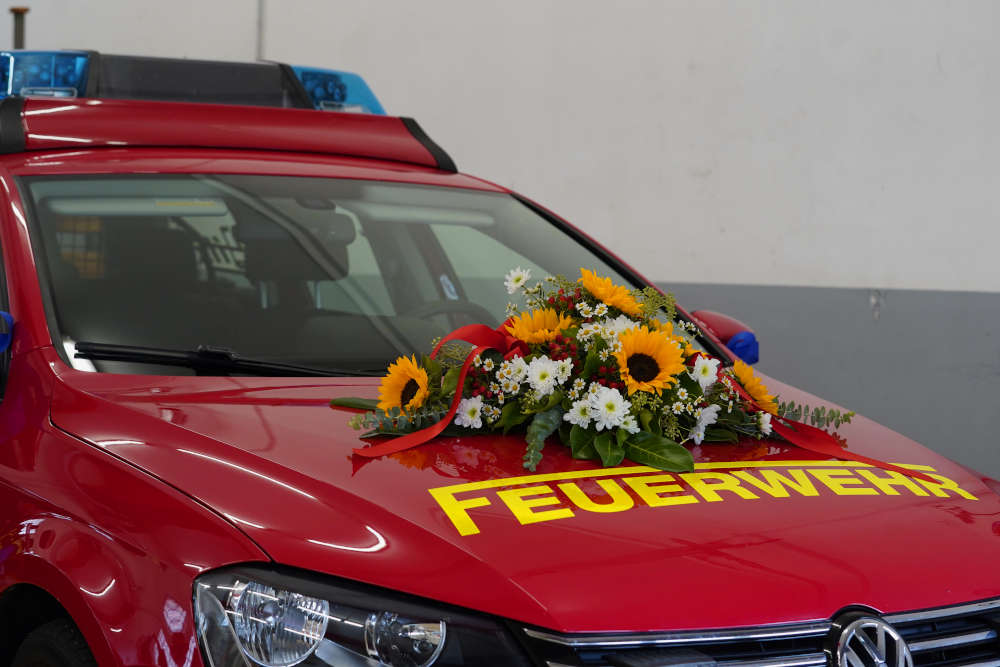 Elmstein Feuerwehrauto Indienststellung (Foto: Holger Knecht)
