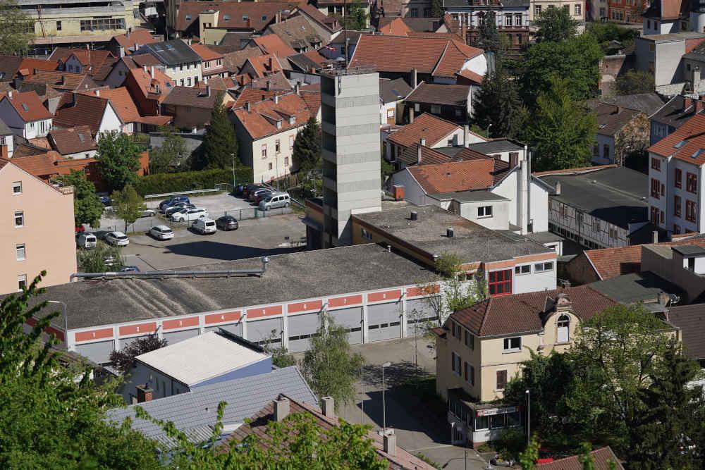 Die Hauptfeuerwache Neustadt an der Weinstraße (Foto: Holger Knecht)