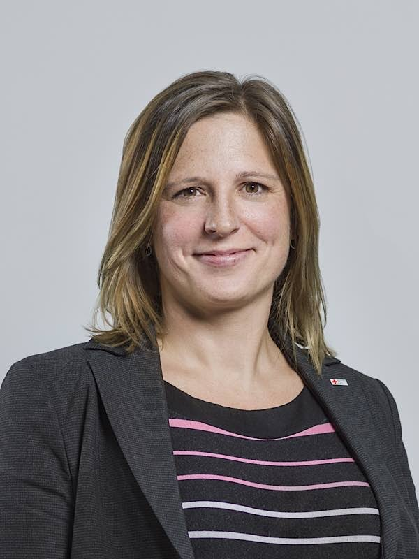 Caroline Greiner, Geschäftsführerin der Integrierten Leitstelle Heidelberg/Rhein-Neckar-Kreis gGmbH. (Foto: Landratsamt Rhein-Neckar-Kreis)