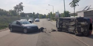 """Verkehrsunfall im Gewerbegebiet """"Bruch"""" (Foto: Polizei RLP)"""