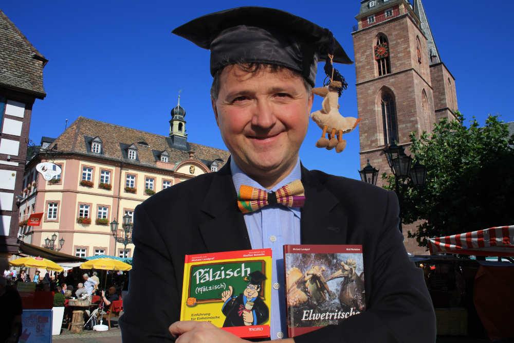 Palatinologe Michael Landgraf (Foto: Pfälzischer Bibelverein)