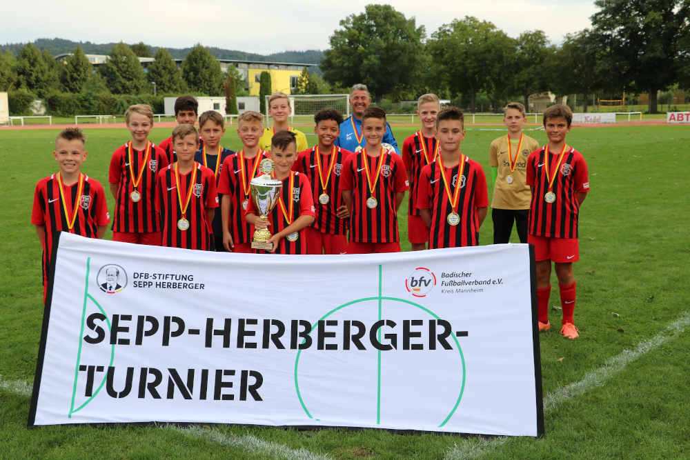 D-Junioren der TSG Weinheim holen den Titel (Foto: Badischer Fußballverband)