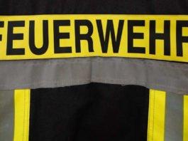 Symbolbild Feuerwehr Rückenschild (Foto: Holger Knecht)