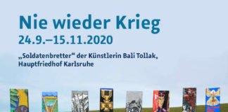 """Ausstellung """"Nie wieder Krieg"""" (Fotoquelle: Volksbund Deutsche Kriegsgräberfürsorge e.V.)"""