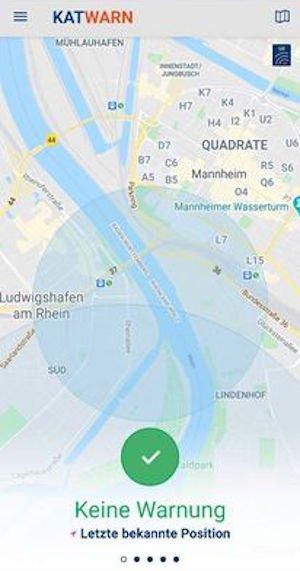 Warnung für Ludwigshafen