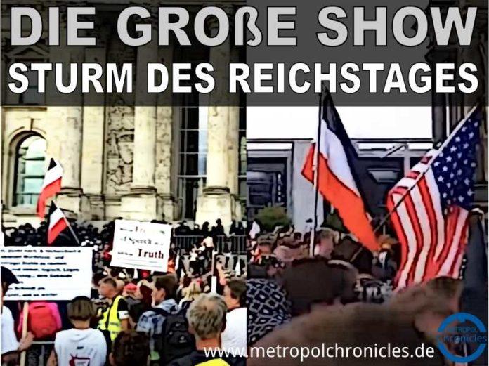 Berlin - Die große Show - Sturm des Reichstages
