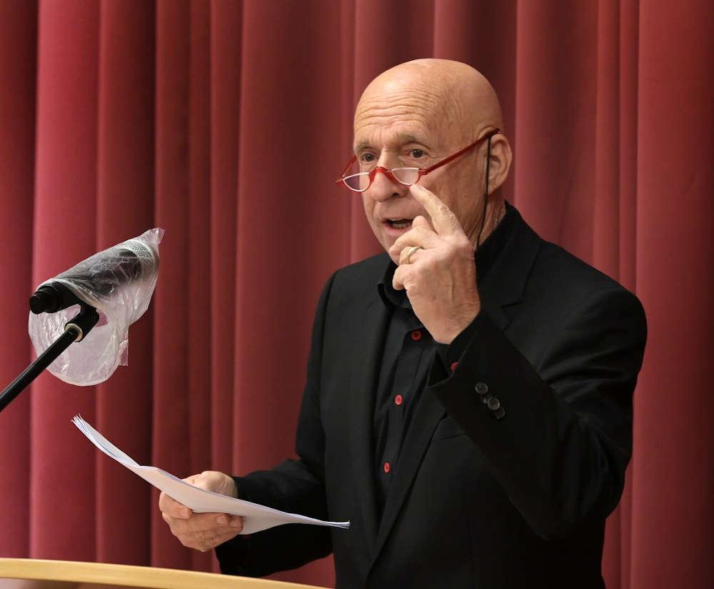 Der Autor und Grenzgänger Martin Graff. (Foto: Landeskirche/Klaus Landry)