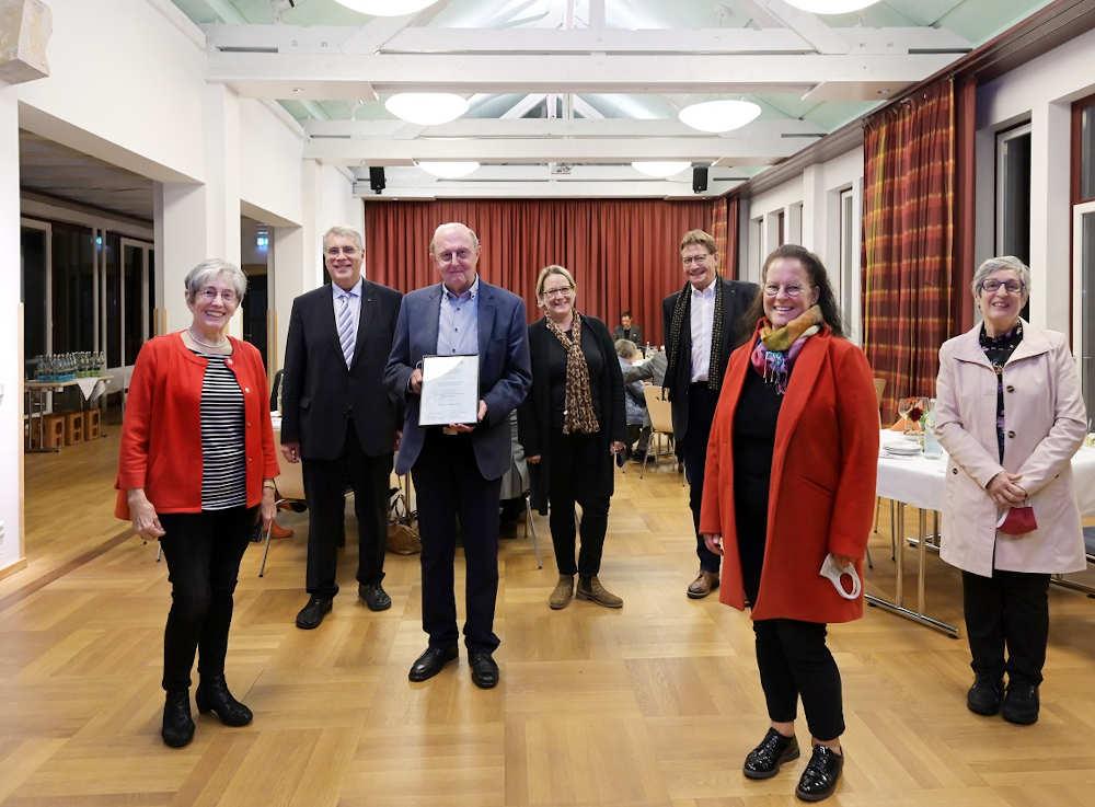 Gewannen den Sonderpreis des Kirchenpräsidenten: Team der Kirchengemeinden Miesau und Gries (Foto: Landeskirche/Klaus Landry)
