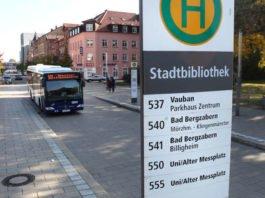 Der Busverkehr wird während der Bauzeit über die Industriestraße umgeleitet. (Quelle: Stadt Landau)