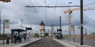 Haltestelle Heidelberg Hauptbahnhof Süd (Foto: Sarah Kohl)