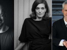 v.l.: Maximilian Mann, Roberta Valentini (Foto: Juliane Bischoff), Marcos Padotzke (Foto: Pieter Tredoux)
