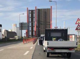 Betriebsstörung Diffenébrücke (Foto: Stadt Mannheim)
