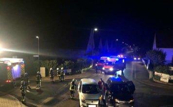 Verkehrsunfall in der Flugplatzstraße (Foto: Feuerwehr Neustadt)