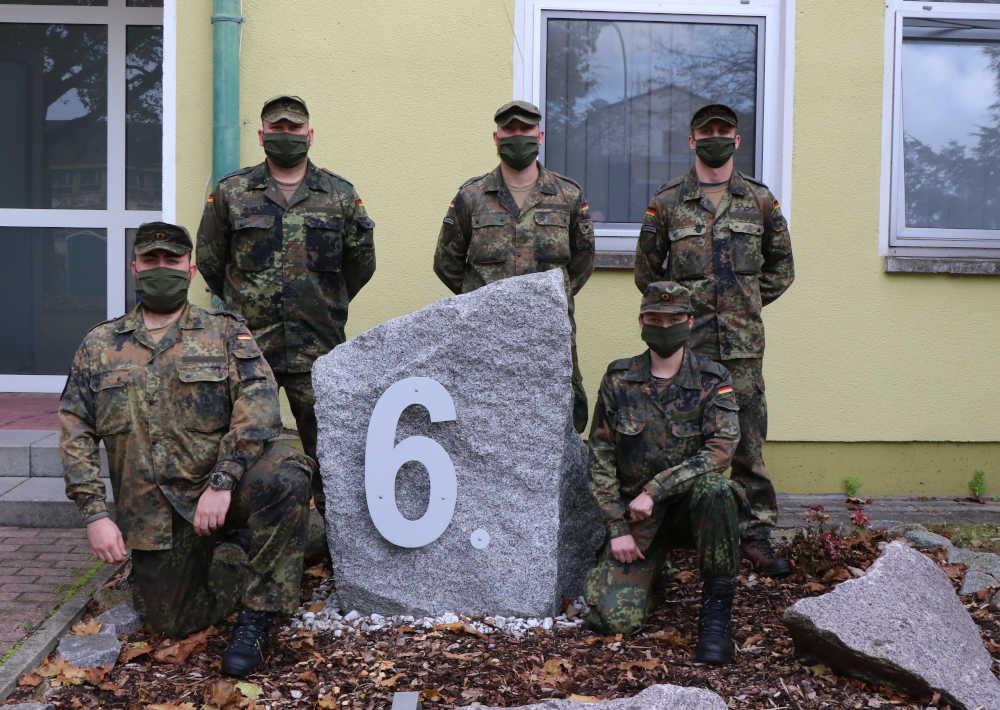Die ausgezeichneten Soldaten (Foto: Bundeswehr/Obergefreiter Melissa Crapanzano)