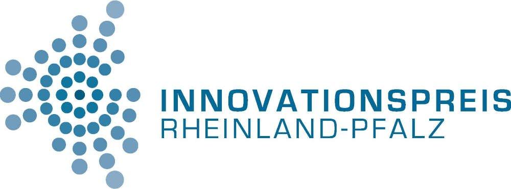 Logo Innovationspreis Rheinland-Pfalz (Quelle: MWVLW)