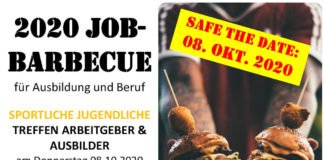 Job Barbecue Plakat (Foto: TFC 1861 e.V. Ludwigshafen)