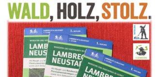 Neue Wanderkarte (Quelle: Verbandsgemeindeverwaltung Lambrecht)