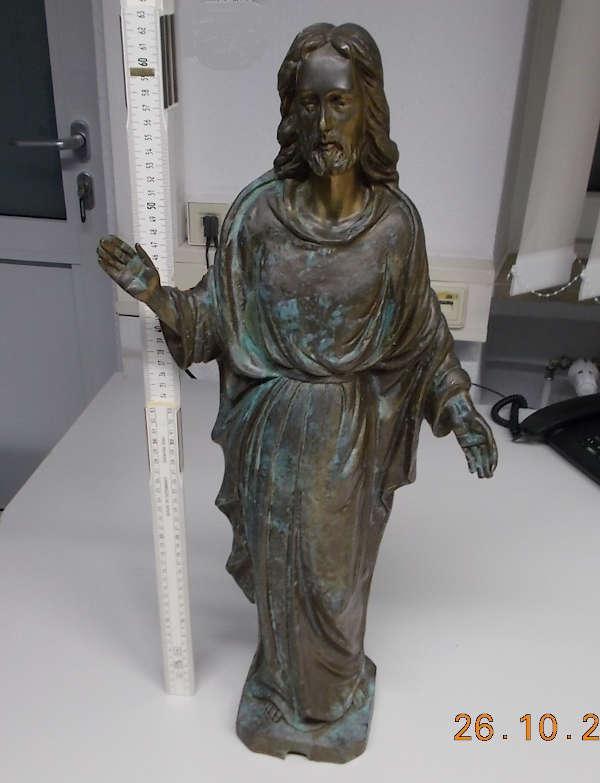 Die aufgefundene Statue (Foto: Polizei RLP)
