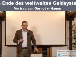 Vortrag von Gernot v. Hagen - Das Ende des Geldsystems