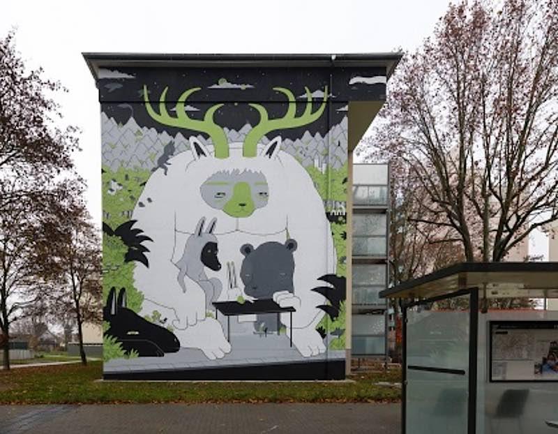 Das neue Mural im