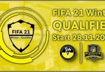 eFOOTBALL Winter Qualifier 2020