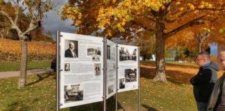 Interessante Geschichte: Tafeln informieren über die Bewohner des einstigen Magdalenenhofs bei der Nikolauskapelle (Foto: Bezirksverband Pfalz)