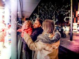 Weihnachtszauber Schaufenster (Foto: Stadtmarketing Mannheim GmbH_HEYMO_Moritz Schleiffelder)