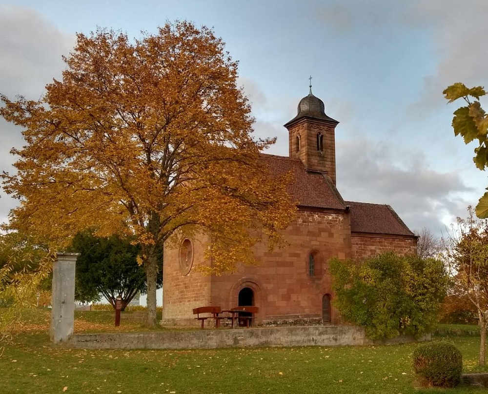 Sakrales Kleinod: Nikolauskapelle bei Klingenmünster (Foto: Bezirksverband Pfalz)