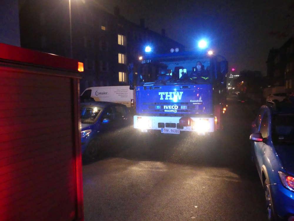 THW-Helfer (Foto: Medienteam Feuerwehr Neustadt)