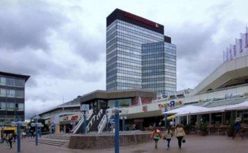 Rathaus und Rathauscenter Ludwigshafen (Foto: Holger Knecht)