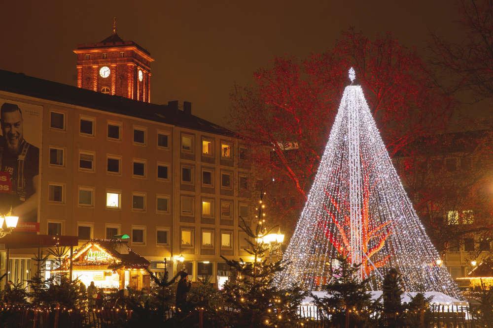 Weihnachtsstadt Karlsruhe (Foto: KME / Jürgen Rösner)