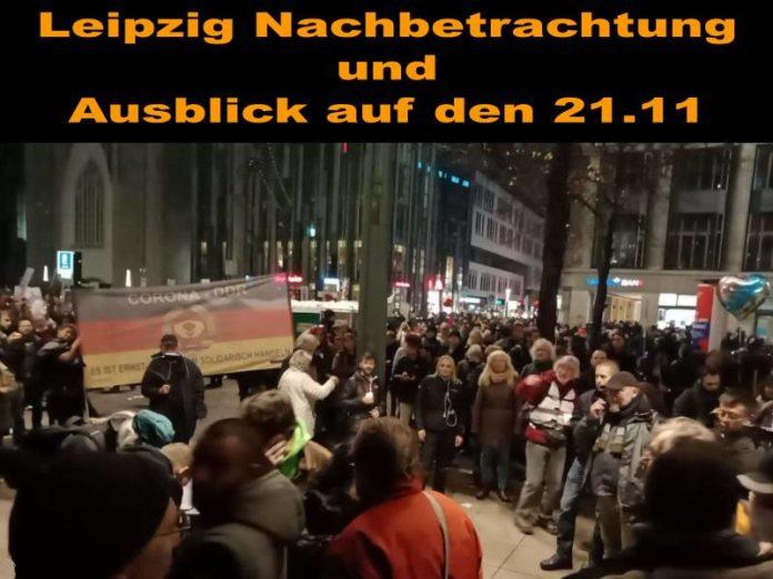 7.11.2020 Leipzig Nachbetrachtung und Ausblick auf den 21.11