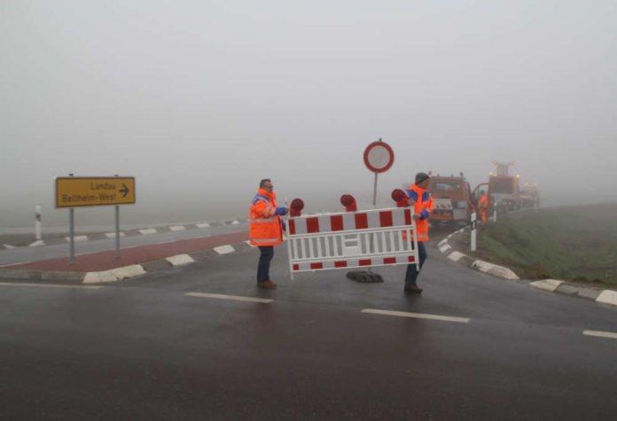 Verkehrsfreigabe der Abschnitt der Ortsumgehung Bellheim (Foto: LBM Speyer)