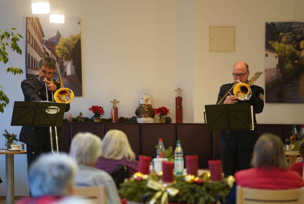 Lambrecht Seniorenhaus Landespolizeiorchester LPO (Foto: Holger Knecht)