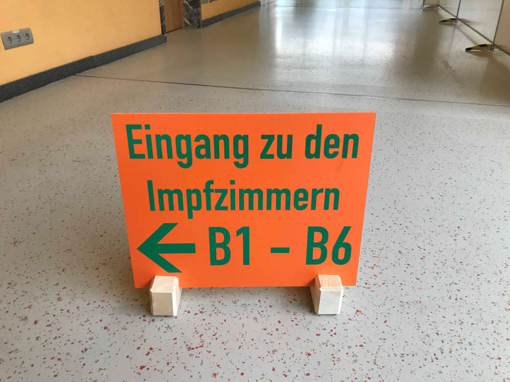 Landesimpfzentrum Speyer (Foto: Stadt Speyer)