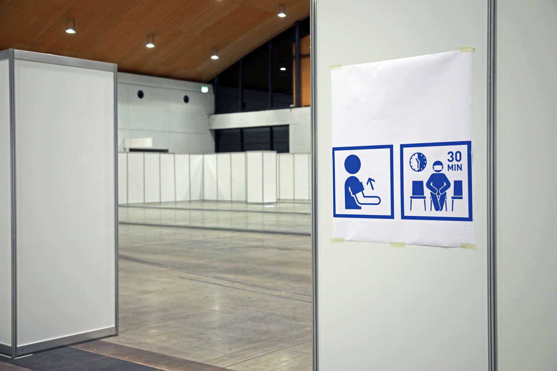 Karlsruhe Messe Zentrales Imfzentrum (Foto: Klaus Eppele)