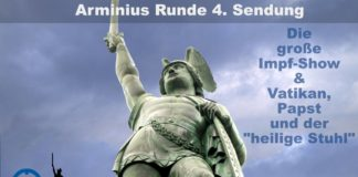 """Arminius Runde 4 - Die große Impfshow - Vatikan, Papst und der """"heilige Stuhl"""""""