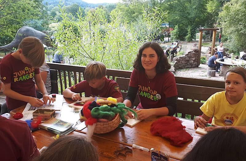 Kreativ sein, viel draußen sein, viel Neues lernen: Junior Ranger im Pfälzerwald (Foto: Biosphärenreservat)
