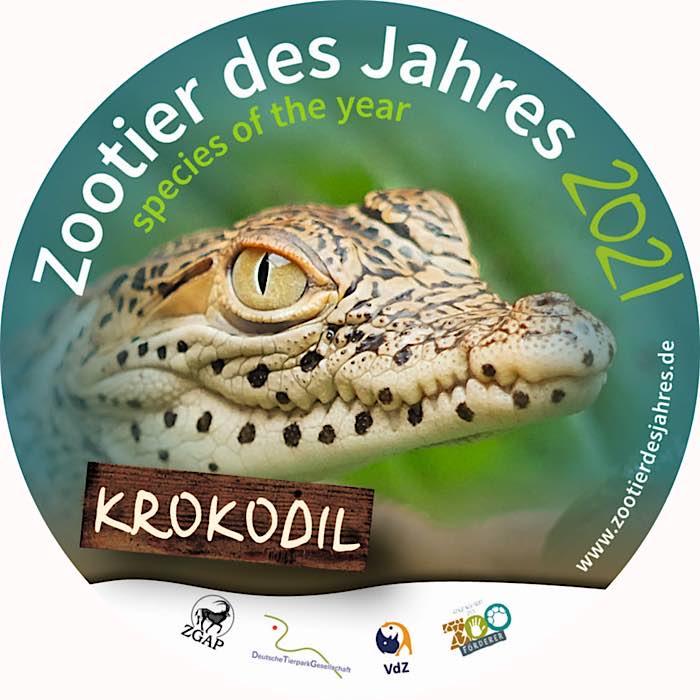 """Das """"Zootier des Jahres""""Kampagnen-Logo 2021 (Quelle: ZGAP)"""