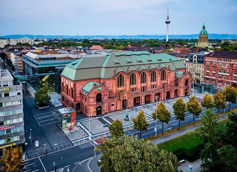 Rosengarten Mannheim (Foto: m:con/Ben van Skyhawk)