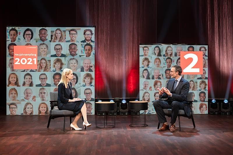 Gesprächsrunde (Foto: Stadt Mannheim/Andreas Henn)