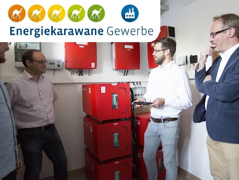 Die Energiekarawane kommt nach Neustadt. (Foto: Energieagentur Rheinland-Pfalz)