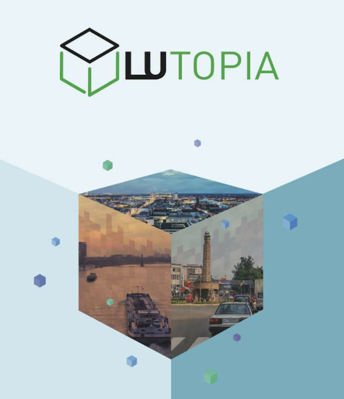Logo LUtopia Camp (Quelle: Stadt Ludwigshafen)