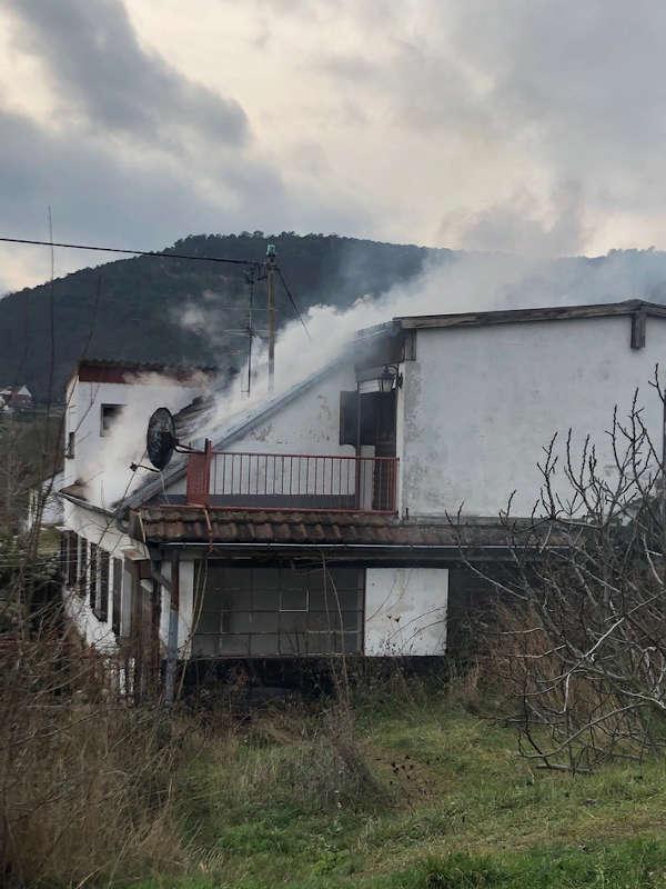 Neustadt Weinstraße Gimmeldingen Gebäudebrand