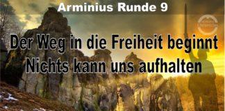 Arminius Runde 9 - Der Weg in die Freiheit beginnt