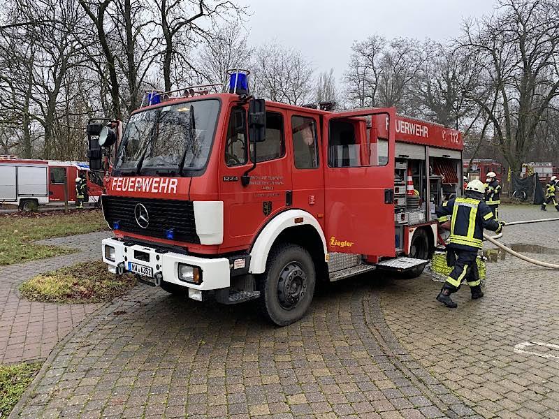 Einsatz im Notkrankenhaus (Foto: Feuerwehr Neustadt)