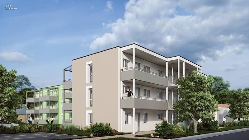 Visualisierung Roßlaufstraße (Foto: WBG/Gooss)